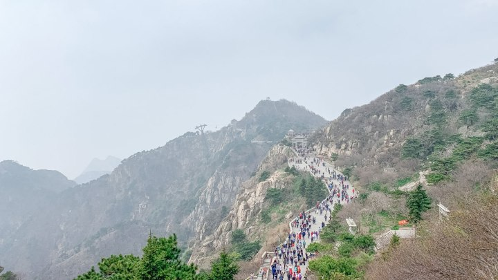KEINDAHAN GUNUNG TAISHAN – ONE OF FIVE SACRED MOUNTAINS