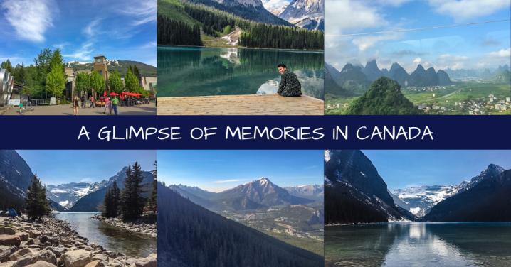 A GLIMPSE OF MEMORIES INCANADA